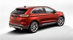 Ford Edge 2015 – First Pictures Of New European SUV By
