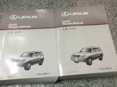 free service manuals online 2003 lexus lx windshield wipe control 2003 lexus lx470 lx 470 service shop workshop repair manual set new ebay