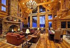 luxury log cabin homes interior in 2019 log home interiors luxury log cabins log homes