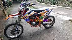 Megapro Modif Trail by Modifikasi Honda Megapro Jadi Trail Ktm 250