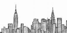 Malvorlagen New York Skyline New York City Skyline Nyc Empire State Chrystler