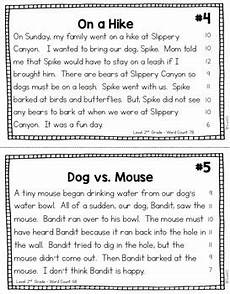 fluency passages reading comprehension 2nd 3rd grade by teach123