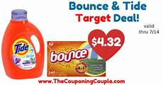 great deal tide detergent and bounce dryer sheets target