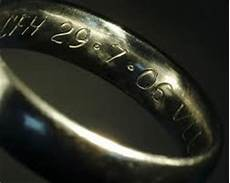 why you should engrave your wedding rings and what to engrave