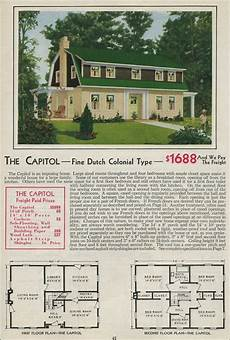 dutch gambrel house plans gambrel style barn homes dutch colonial revival 1931