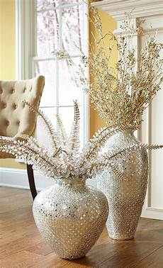 Home Decor Ideas With Vases by Statement Gift Handcrafted Mosaic Vases With Floral Stems