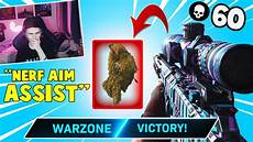 warzone aim assist not working this is why people want aim assist nerfed in warzone 60 kills youtube