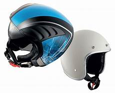 neue roller helme mit offenem visier roller magazin