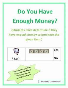 money worksheets do i enough 2107 money do you enough money 1 bills money worksheets teaching money