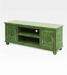 credenza indiana credenza indiana porta tv verde legno di mango 0022