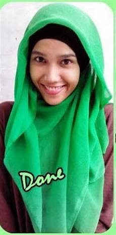 Cara Memakai Jilbab Segitiga Yang Simpel