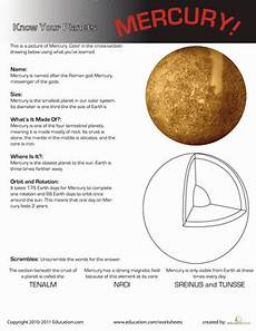mars planet worksheet your planets mercury kid solar and earth space