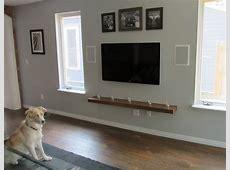 shelves for wall mounted tv   Decor IdeasDecor Ideas