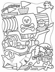 pirate coloring page printable free by stephen joseph