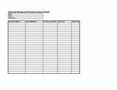 17 best images of bakery inventory worksheet restaurant inventory sheet template bakery