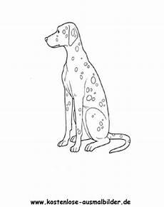 ausmalbilder dalmatiner tiere zum ausmalen malvorlagen