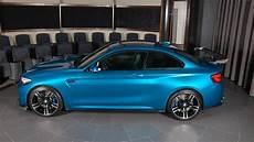 Bmw M2 Blue Gets Custom Carbon Fiber Aero Pack