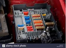 Citroen Berlingo Fuse Box Stock Photo Royalty Free Image