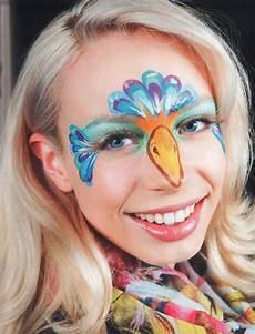 Malvorlagen Gesichter Schminken Paradiesvogel Schminken Kinderschminken Schminken