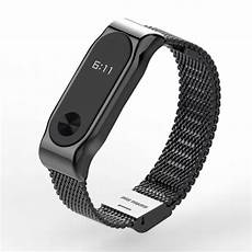 Mijobs Replacement Metal Stainless Steel Frame by Haoguo Original Mijobs Metal Band For Miband 2