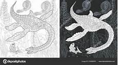 ausmalbilder unterwasser dinosaurier kostenlos zum