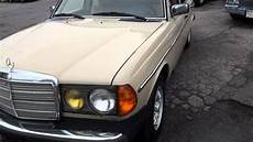 1982 mercedes 300d turbo diesel w123