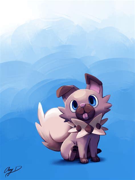 Cute Rockruff