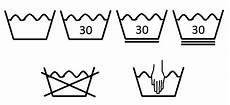 wäsche waschen symbole textilpflegesymbole warenkunde
