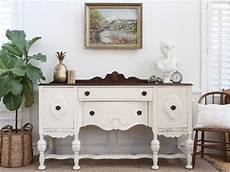 Antique Shabby Chic Buffet Sideboard Credenza Buffet