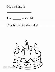 birthday celebration worksheets 20208 birthday free kindergarten worksheets