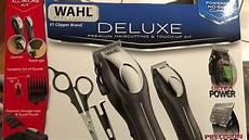 walmart haircut review wahl deluxe hair clippers review razor barber costco walmart barbershop haircuts haircut youtube