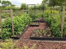 Kitchen Garden Plan by Kitchen Garden Plan Layout Potager The Farmer S
