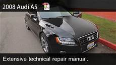 online car repair manuals free 2008 audi a5 electronic throttle control 2008 2009 2010 audi a5 technical repair manual youtube
