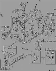 234 06 41250 harness 1 5kw alternator wiring 2340641250 komatsu spare part 777parts