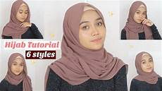 Simple Tutorial 6 Styles Pashmina
