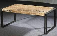 fabriquer table basse style industriel fraise des bois produits table basse
