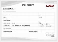 16 printable cash payment receipts for ms word word excel templates