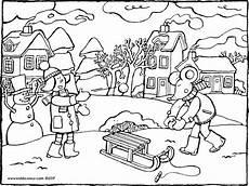 Ausmalbilder Pferde Im Winter Wetter Kleurprenten Seite 2 3 Kiddimalseite
