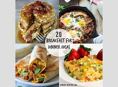 Brinner!! A roundup of 20 Breakfast for Dinner Ideas   Kim