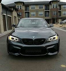 first mod installed black m performance grills i love this car m2 bmw