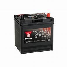batterie voiture 50ah batterie de voiture yuasa ybx3108 12v 50ah 400a smf battery