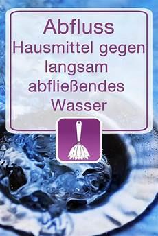 Abfluss Hausmittel Gegen Langsam Abflie 223 Endes Wasser