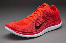 mens shoes nike free 4 0 flyknit bright crimson black