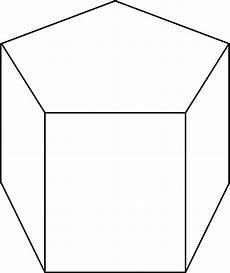 clipart photo pentagonal prism clipart etc