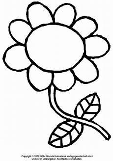 Blumen Malvorlagen Kostenlos Zum Ausdrucken Rossmann Blumen Schablone Malvorlagen Ausmalbilder Blumen