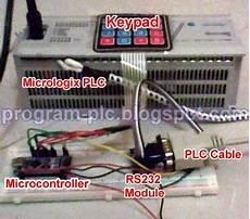 how to communication between allen bradley plc and arduino microcontroller