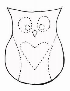 eule basteln vorlage dan faires owl pillow template crafts