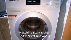 Miele Waschmaschine Wkb130wcs Beim Schleudern Mit 1200 U