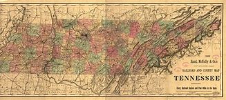 Image result for Tennessee State Map Counties