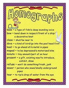 homographs teaching vocabulary homographs common core reading